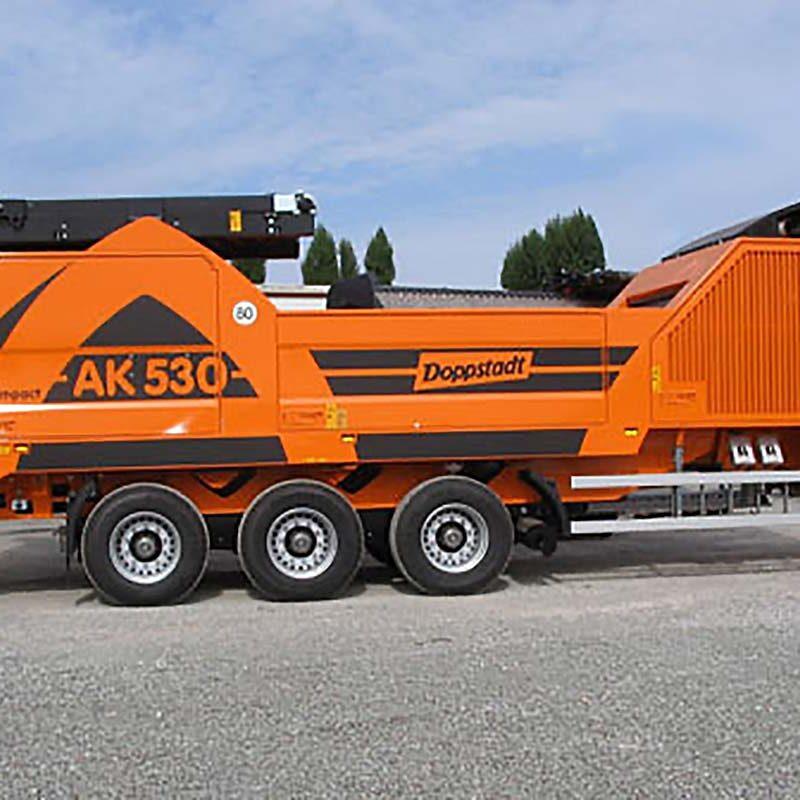 Doppstadt AK530 Shredder